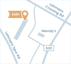 Map showing location of the Embellish My Home showroom.